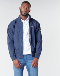 Clothing Men Jackets Tommy Jeans TJM CUFFED COTTON JACKET Marine