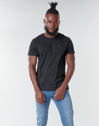 Clothing Men Short-sleeved t-shirts Tommy Jeans TJM ORIGINAL JERSEY TEE Black
