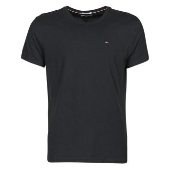Clothing Men Short-sleeved t-shirts Tommy Jeans TJM ORIGINAL JERSEY TEE Black