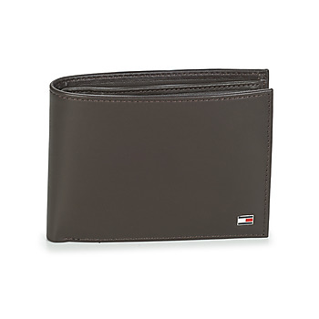 Bags Men Wallets Tommy Hilfiger ETON CC AND COIN POCKET Brown