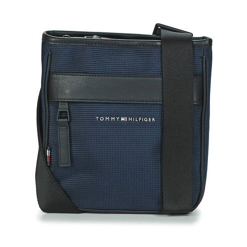 Bags Men Pouches / Clutches Tommy Hilfiger ELEVATED NYLON MINI CROSSOVER Marine