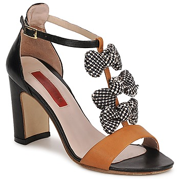 Shoes Women Sandals MySuelly NOE Black / Brown
