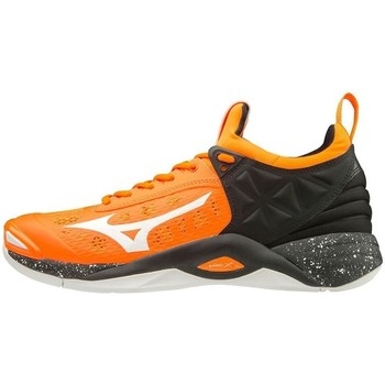 Shoes Men Multisport shoes Mizuno Wave Momentum Black, Orange