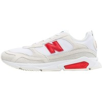 Shoes Men Low top trainers New Balance Xracer White, Red, Cream