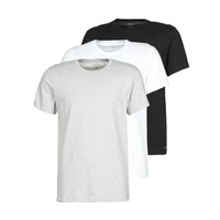 Clothing Men Short-sleeved t-shirts Calvin Klein Jeans CREW NECK 3PACK Grey / Black / White