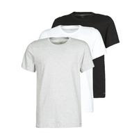 Clothing Men Short-sleeved t-shirts Calvin Klein Jeans CREW NECK 3PACK Grey / Black / White