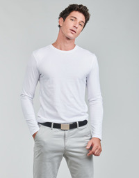 Clothing Men Long sleeved tee-shirts Polo Ralph Lauren CREW 3 PACK CREW UNDERSHIRT White / Grey / Black
