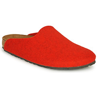 Shoes Women Clogs Birkenstock AMSTERDAM Red