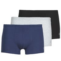 Underwear Men Boxer shorts Mariner PACK COTON BIO X3 Black / Marine / Grey