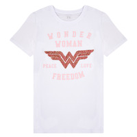 Clothing Girl Short-sleeved t-shirts Name it NKFWONDERWOMEN White