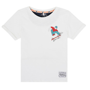 Clothing Boy Short-sleeved t-shirts Name it NKMKBOWLING White