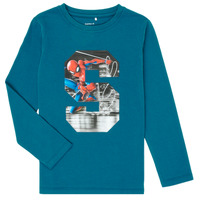 Clothing Boy Long sleeved tee-shirts Name it NMMSPIDERMAN Blue