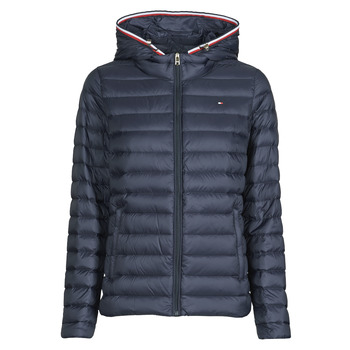 Clothing Women Duffel coats Tommy Hilfiger TH ESSENTIAL LW DWN PACK JKT Marine