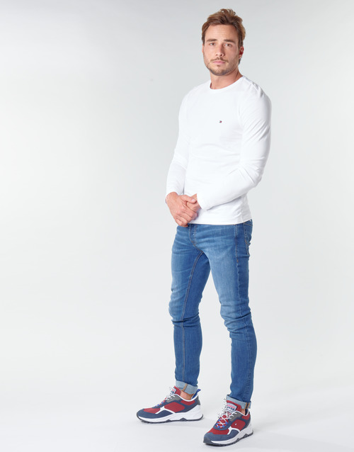 Tommy Hilfiger STRETCH SLIM FIT LONG SLEEVE TEE