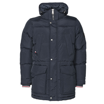 Clothing Men Duffel coats Tommy Hilfiger TOMMY DOWN HDD PARKA Marine