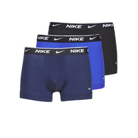 Underwear Men Boxer shorts Nike EVERYDAY COTTON STRETCH Black / Marine / Blue