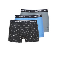 Underwear Men Boxer shorts Nike EVERYDAY COTTON STRETCH Black / Grey / Blue