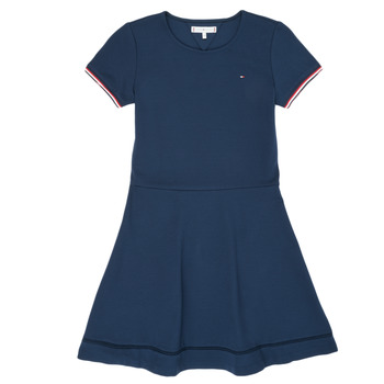 Clothing Girl Short Dresses Tommy Hilfiger KG0KG05279-C87 Marine