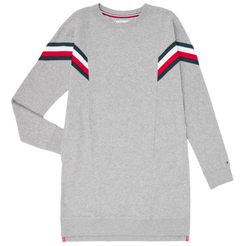 Clothing Girl Short Dresses Tommy Hilfiger KG0KG05283-P6U Grey