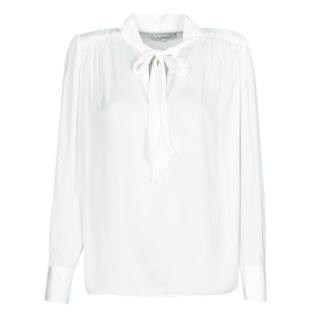 Clothing Women Shirts Morgan OLIAB White