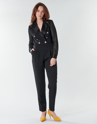 Clothing Women Jumpsuits / Dungarees Morgan PEMILI Black
