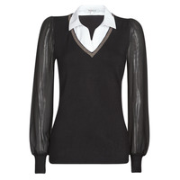 Clothing Women Jumpers Morgan MVANI Black