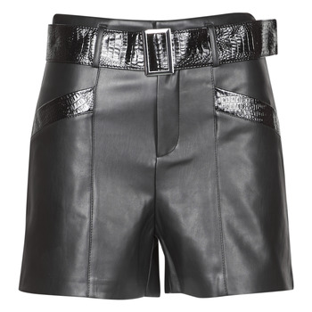 Clothing Women Shorts / Bermudas Morgan SHROCO Black
