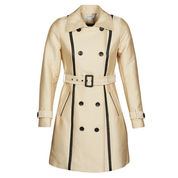 Clothing Women Trench coats Morgan GASTON Beige