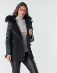 Clothing Women Coats Morgan GCABI Black