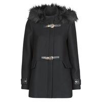Clothing Women Coats Morgan GCALIS Black