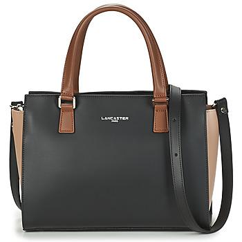 Bags Women Handbags LANCASTER CONSTANCE Black / Beige / Camel