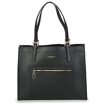 Bags Women Small shoulder bags LANCASTER FOULONNE DOUBLE Black