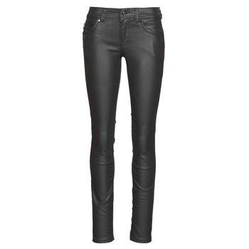 Clothing Women Slim jeans Pepe jeans NEW BROOKE Black