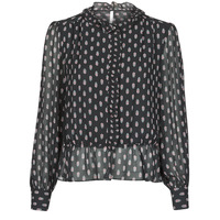 Clothing Women Tops / Blouses Pepe jeans NORA Black