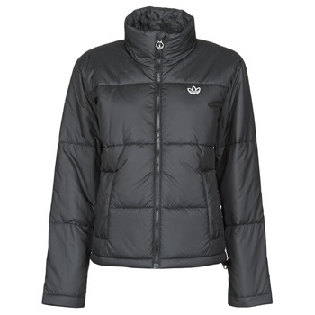 Clothing Women Duffel coats adidas Originals SHORT PUFFER Black