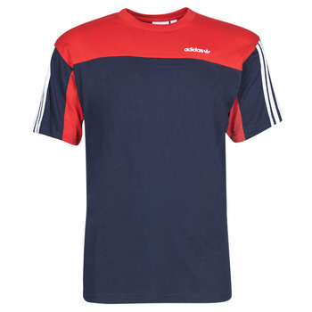 Clothing Men Short-sleeved t-shirts adidas Originals CLASSICS SS TEE Blue / Navy / Collegial