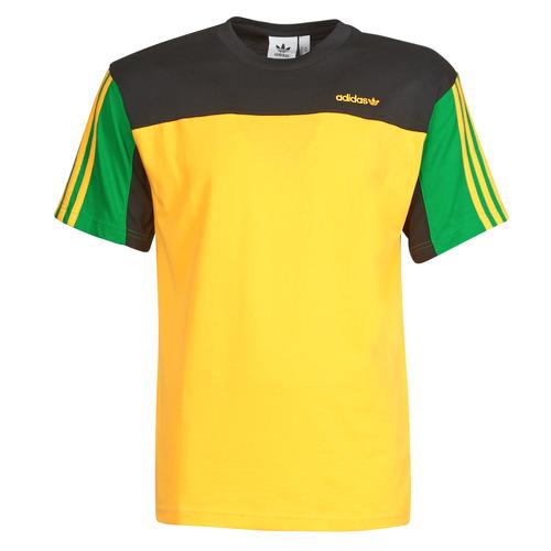 Clothing Men Short-sleeved t-shirts adidas Originals CLASSICS SS TEE Gold / Active
