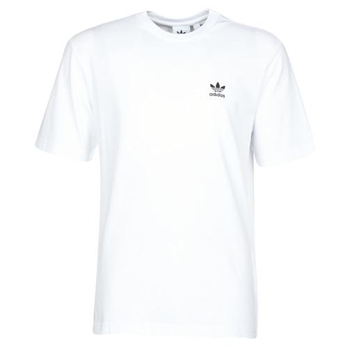 Clothing Men Short-sleeved t-shirts adidas Originals B+F TREFOIL TEE White