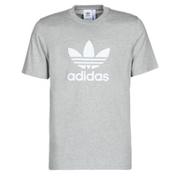 Clothing Men short-sleeved t-shirts adidas Originals TREFOIL T-SHIRT Grey
