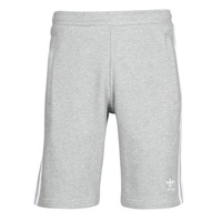Clothing Men Shorts / Bermudas adidas Originals 3-STRIPE SHORT Grey