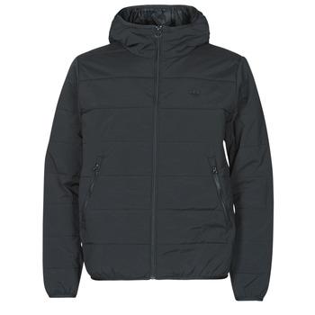 Clothing Men Duffel coats adidas Originals LW ZT TRF HOODY Black