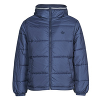 Clothing Men Duffel coats adidas Originals PAD HOODED PUFF Blue / Navy / Collegial