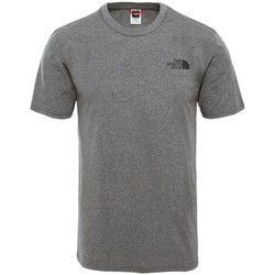 Clothing Men Short-sleeved t-shirts The North Face Simple Dome Grey