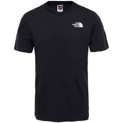 Clothing Men Short-sleeved t-shirts The North Face Simple Dom Black