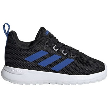 Shoes Children Low top trainers adidas Originals Lite Rcer Inf White, Black, Blue