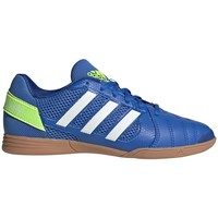 Shoes Children Football shoes adidas Originals Top Sala White,Blue,Yellow