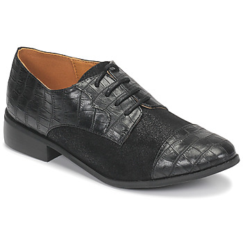 Shoes Women Derby Shoes Moony Mood NOULESSE Black
