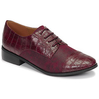 Shoes Women Derby Shoes Moony Mood NOULESSE Bordeaux