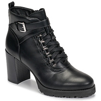 Shoes Women Ankle boots Moony Mood NINOU Black