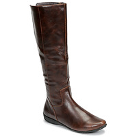 Shoes Women High boots Moony Mood GURLEN Brown